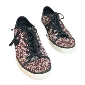 Nike Leopard Animal Print Fashion Lace Up Sneakers